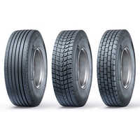 Radial retreading tyres