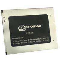 Micromax mobile battery