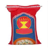 Printed rice bags