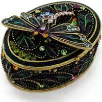 Jewelry trinket boxes