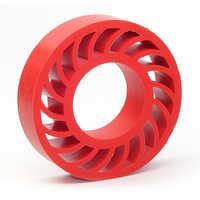 Silicon rubber component