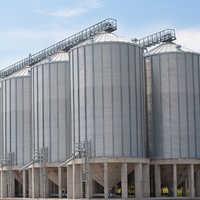 Galvanized silos