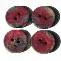 Polymer buttons