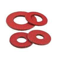 Red fibre gaskets