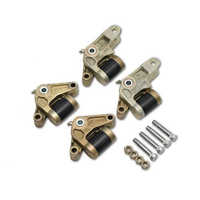 Equalizer bolts