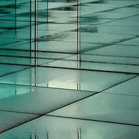 Reflective tiles