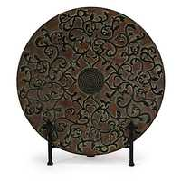 Decorative metal plate