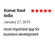 Tradeindia user Rating