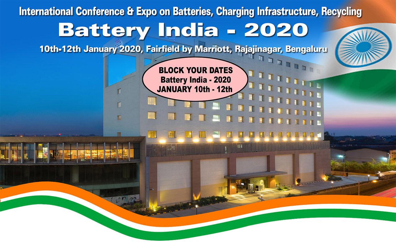 BATTERY  INDIA 2020