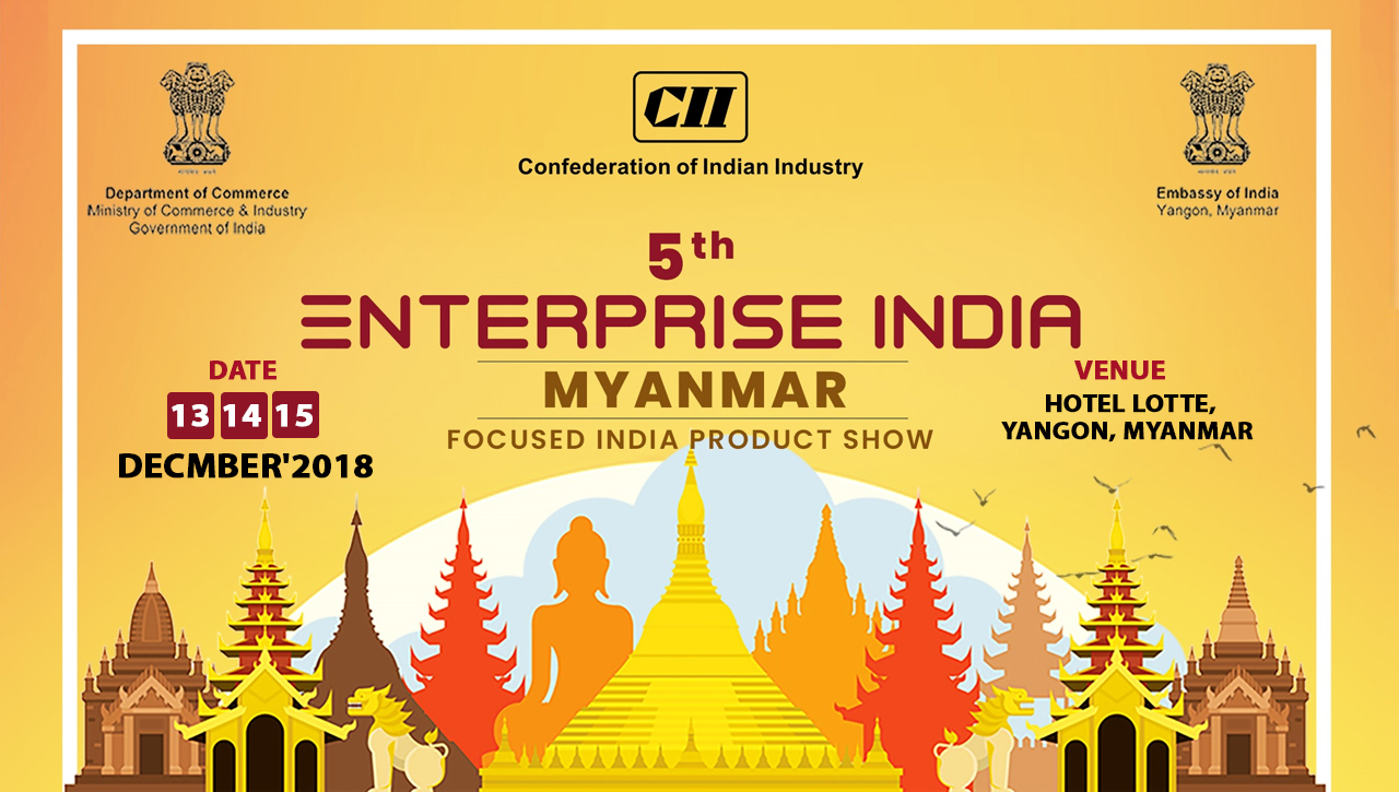 5th Enterprise India at Myanmar 2018