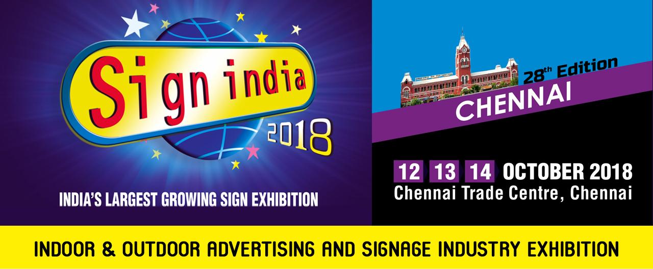 Sign India 2018 - Chennai