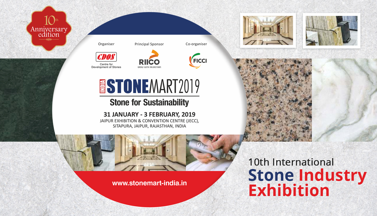 International Stone Industry Exhibition India Stonemart 2019