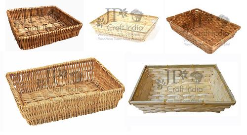 Bamboo Trays & Basket